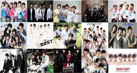 BoyBand K-pop